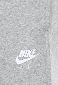 Nike Sportswear - AIR PANT - Tracksuit bottoms - dark grey heather/white - 2