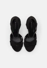 Anna Field - Sandaler med høye hæler - black - 5