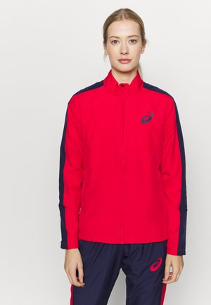 LINED SUIT SET - Tracksuit - classic red/peacoat