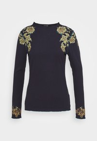 Desigual - TOLOUSE - Long sleeved top - navy - 0