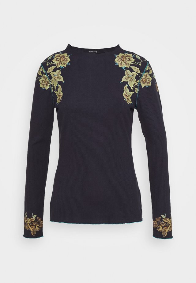 TOLOUSE - Long sleeved top - navy