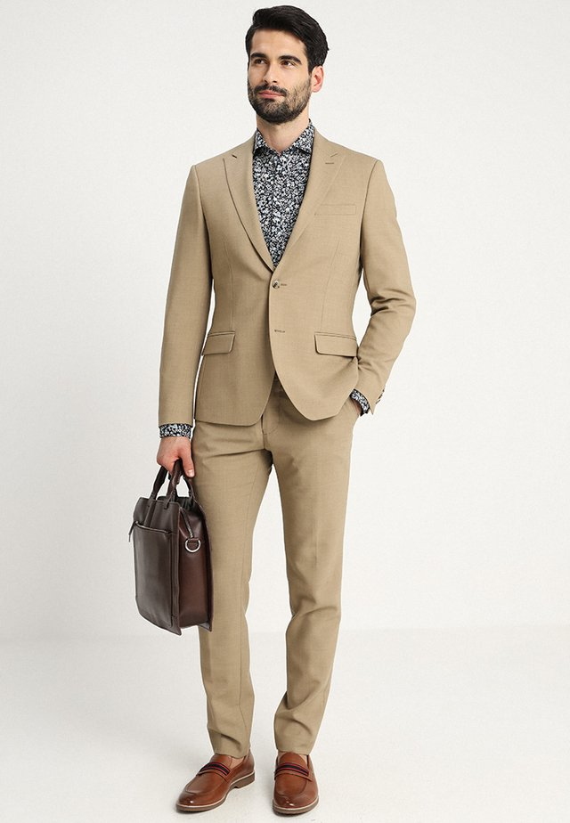 DREJER JEPSEN SLIM FIT - Suit - warm sand