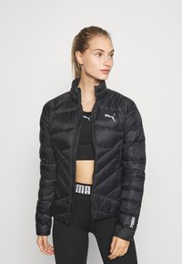 Puma - PWRWARM PACKLITE JACKET - Down jacket - black - 0
