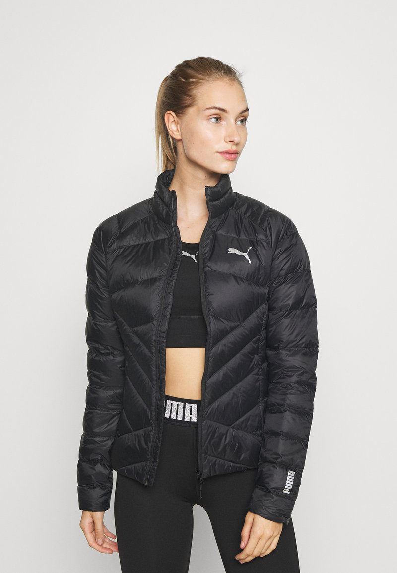 Puma - PWRWARM PACKLITE JACKET - Down jacket - black