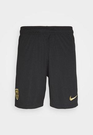 FC BARCELONA SHORT HA - Pantaloncini sportivi - black/metallic gold