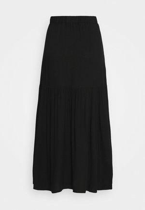 MANDY SKIRT - A-line skirt - black dark