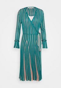 Diane von Furstenberg - EDELINE - Maxi dress - placid blue/pale pink - 0