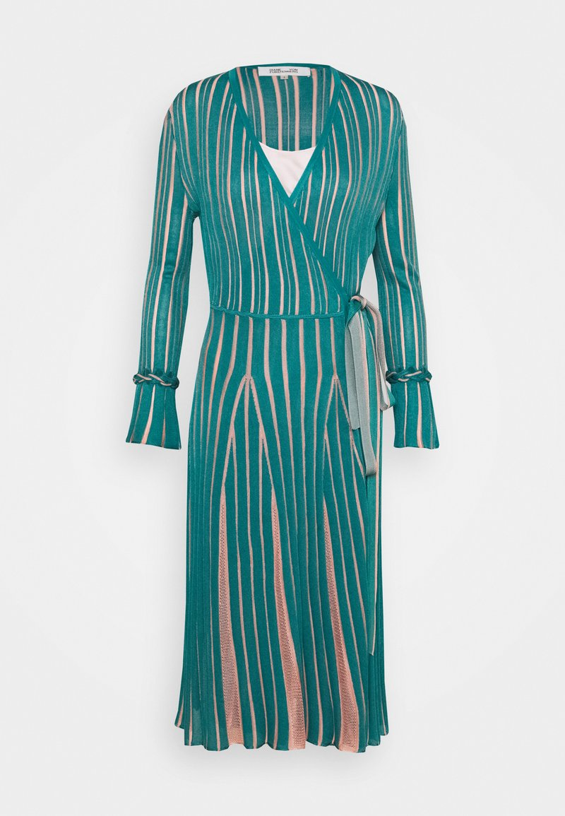 Diane von Furstenberg - EDELINE - Maxi dress - placid blue/pale pink