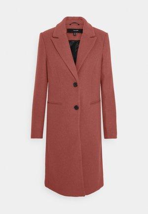 VMBLAZA LONG - Classic coat - mahogany