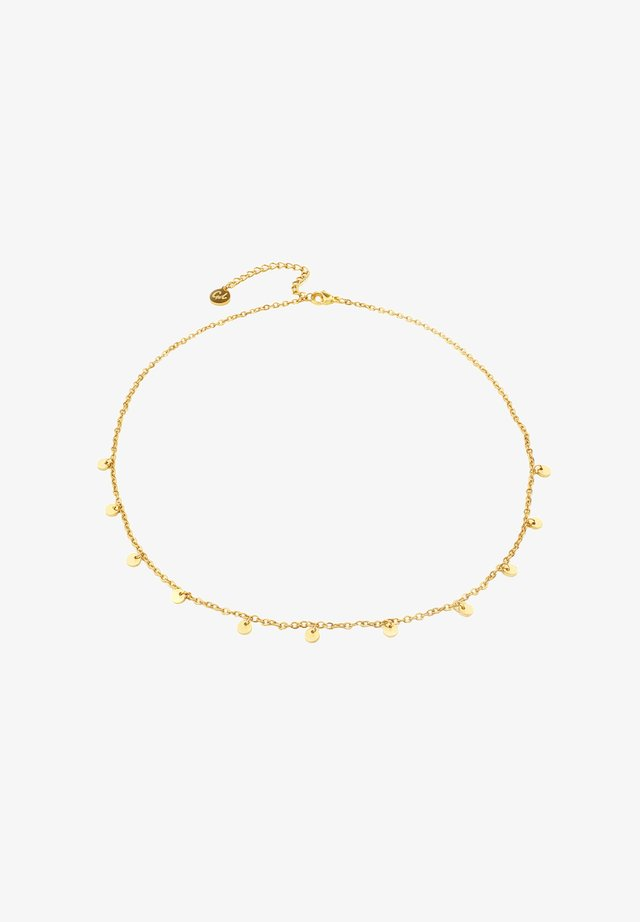 11 COIN  - Necklace - gold