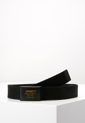 MILIARY PRINTED BELT - Belt - black