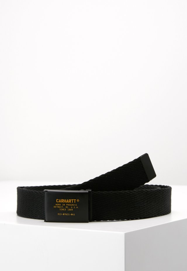 MILIARY PRINTED BELT - Belte - black