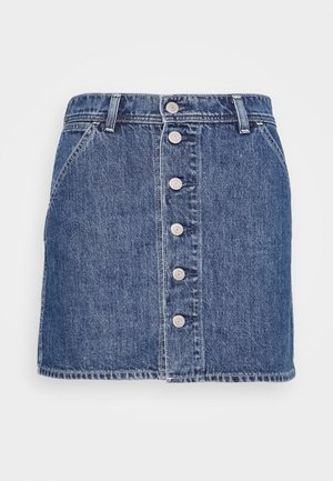 UTILITY SKIRT - Denim skirt - snooze ya lose