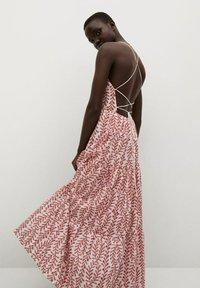 Mango - Maxi dress - rouge - 2