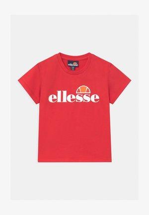 RAZOR BABY UNISEX - T-shirt print - red