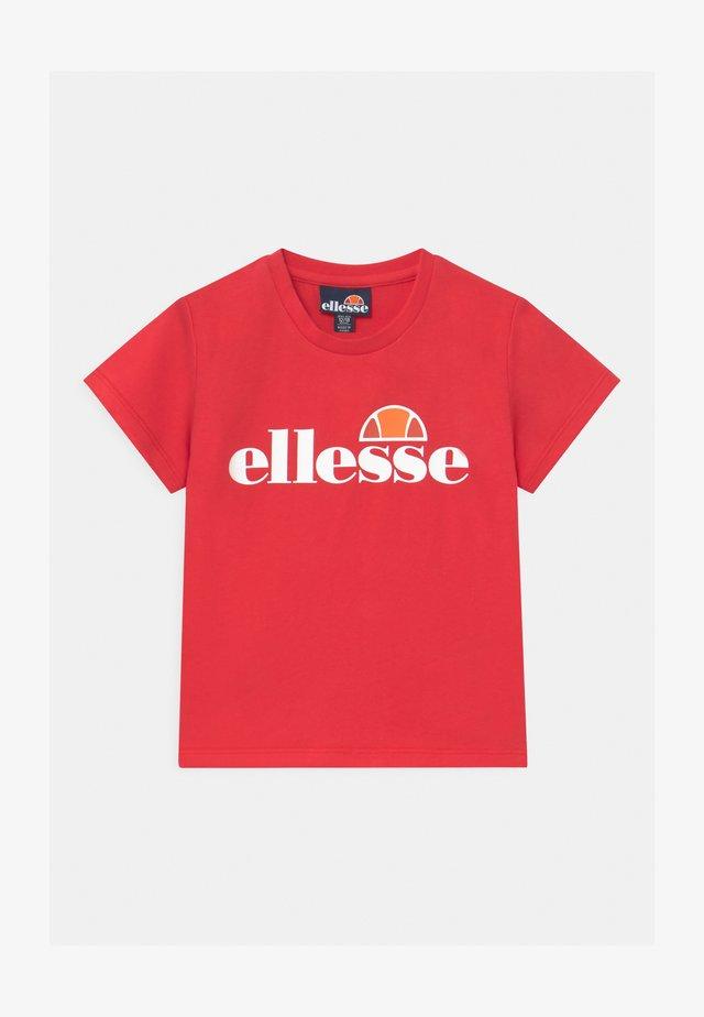 RAZOR BABY UNISEX - T-shirt imprimé - red