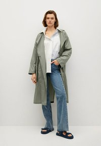 Mango - Waterproof jacket - kaki - 0