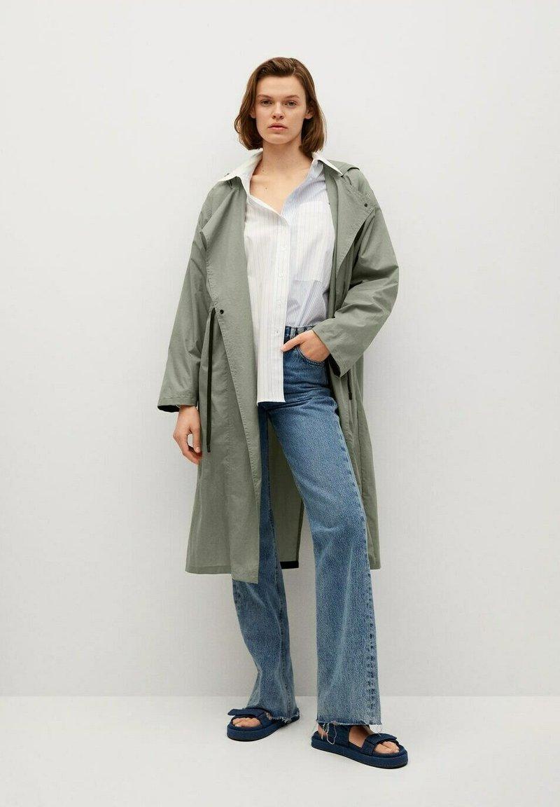 Mango - Waterproof jacket - kaki