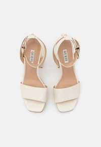 Guess - RIPPA - Platform sandals - cream - 5