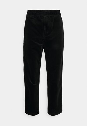 FLINT PANT BARRINGTON - Chino kalhoty - black rinsed