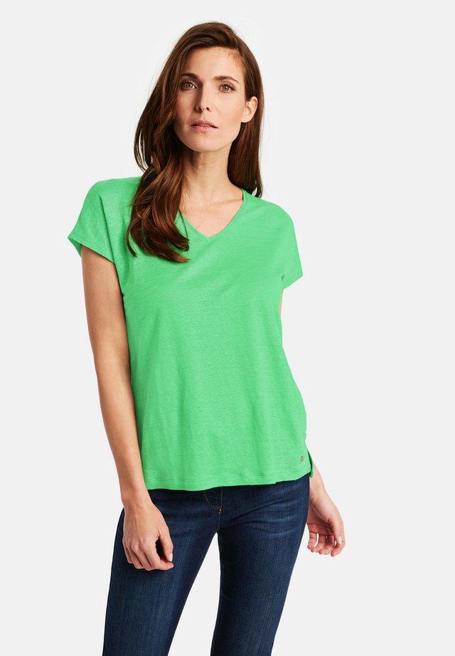 T-shirt basic - inselgrün