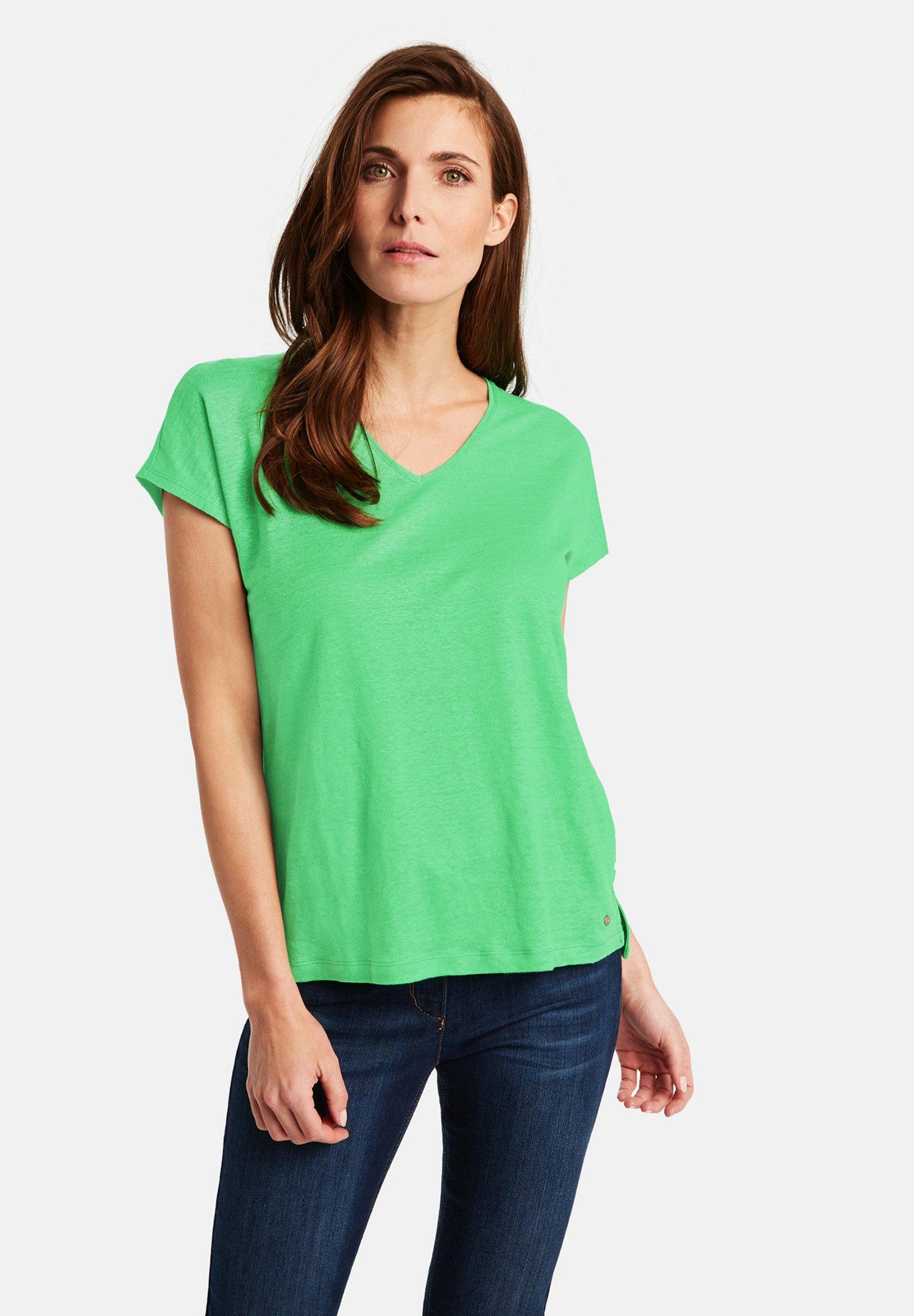 Gerry Weber T-shirt basique - inselgrün - Tops & T-shirts Femme nMND3