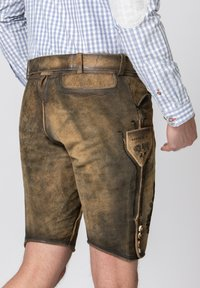 Stockerpoint - HARTL - Leather trousers - brown - 6