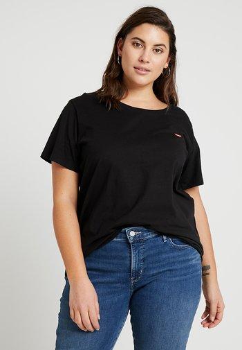 PERFECT CREW - Print T-shirt - mineral black