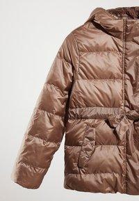 Massimo Dutti - MIT KAPUZE  - Down jacket - brown - 4