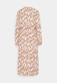 Moss Copenhagen - CAMLY RIKKELIE DRESS - Day dress - beige - 1