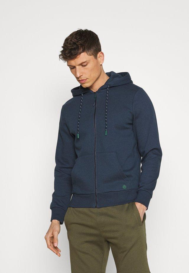 BASICA ABIERTA - veste en sweat zippée - medium blue