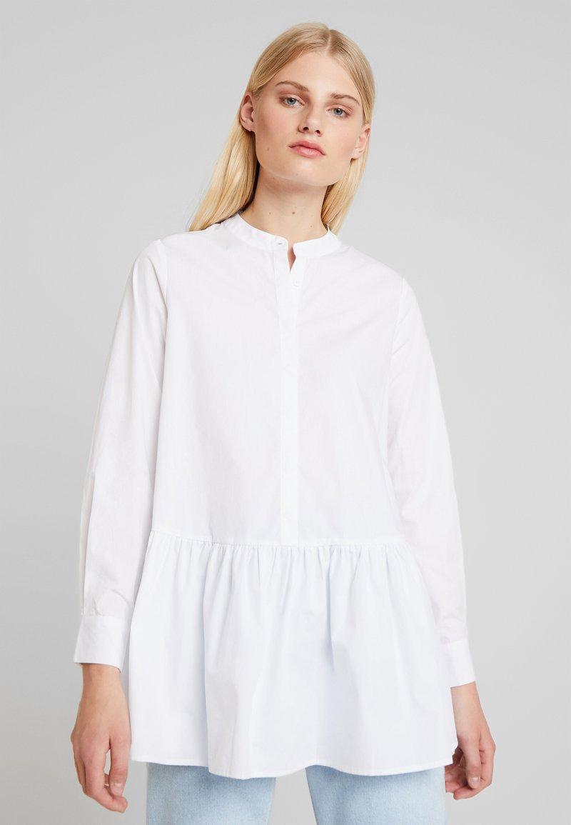 mint&berry - Button-down blouse - white