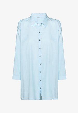 3/4 SLEEVE - Button-down blouse - powder blue