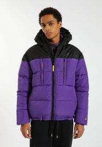 PULL&BEAR - Winter jacket - purple - 0