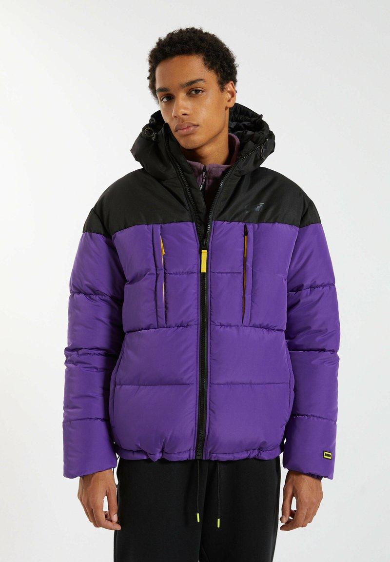 PULL&BEAR - Winter jacket - purple