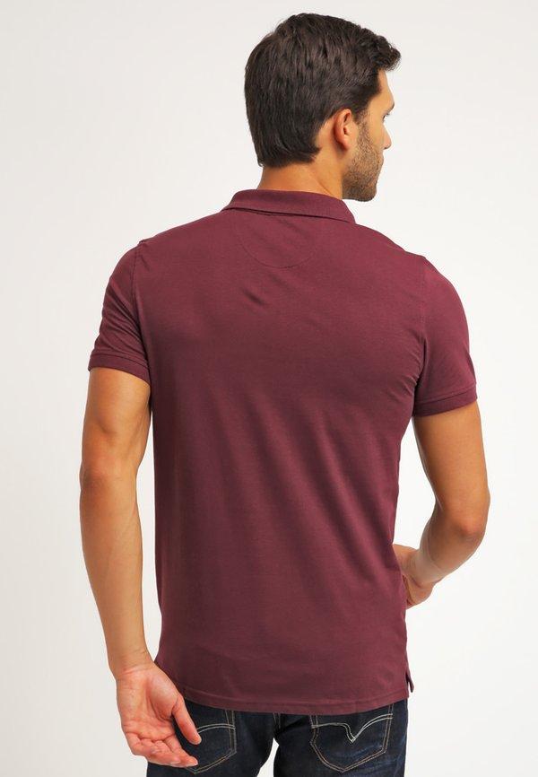Pier One Koszulka polo - bordeaux/bordowy Odzież Męska RKQD