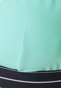 Tommy Hilfiger - MIAMI TRIANGLE FIXED - Bikini top - miami aqua - 2