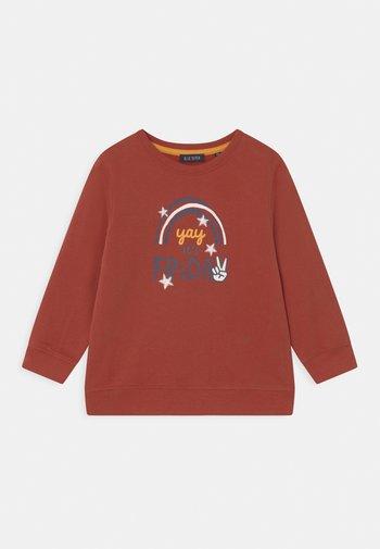KIDS BOYS - Sweatshirt - ziegel