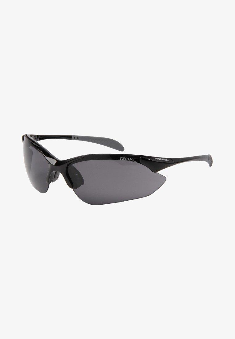 Alpina - TRI QUATROX - Sports glasses - black