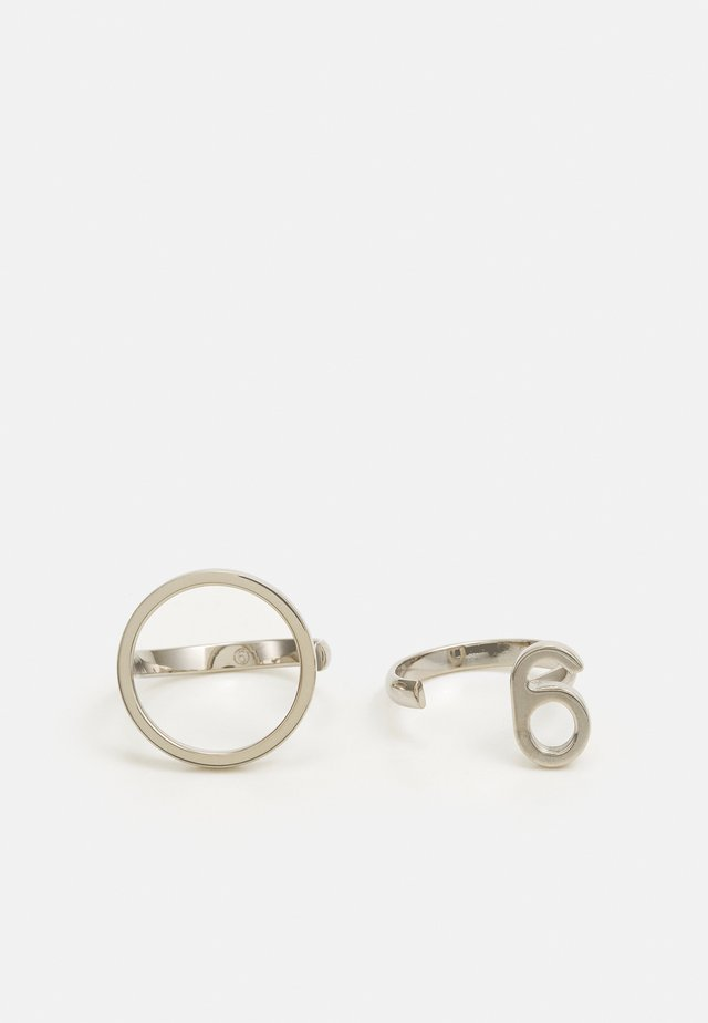 ANELLO 2 PACK - Ring - silver-coloured