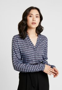 Kaffe - KASARY TILLY BLOUSE - Bluser - midnight marine - 0