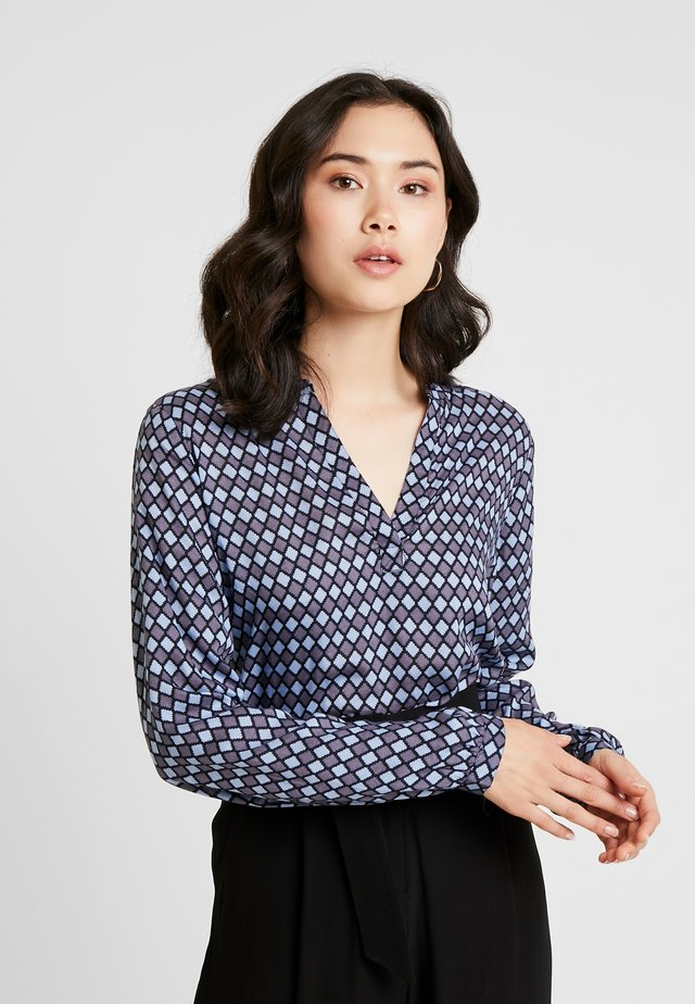 KASARY TILLY BLOUSE - Bluser - midnight marine