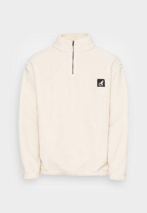 HACKNEY TEDDY - Bluza z polaru - off white