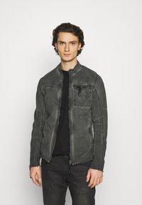 Be Edgy - JENDRIK - Denim jacket - jet black - 2