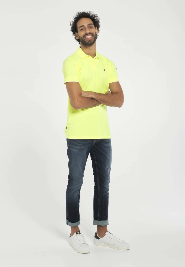 Poloshirt - geel