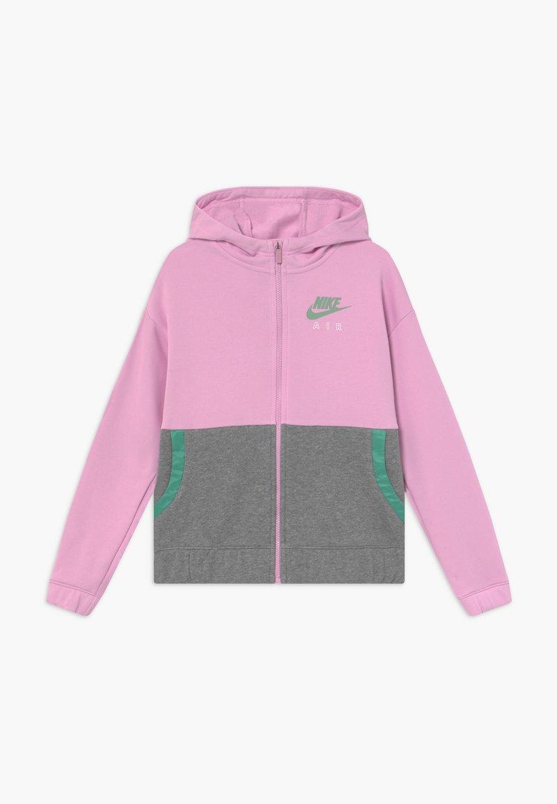 Nike Sportswear - HOODIE - Mikina na zip - arctic pink/healing jade