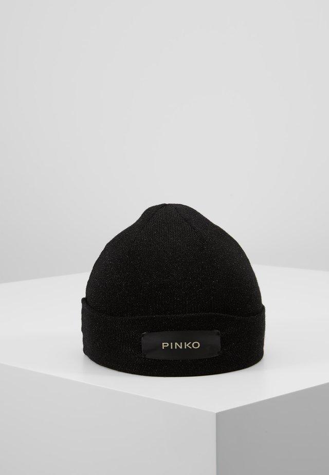 NOVECENTO CUFFIA MISTO - Bonnet - black