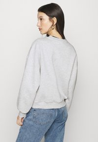 Gina Tricot - BASIC SWEATER - Sweatshirt - light grey melange - 2