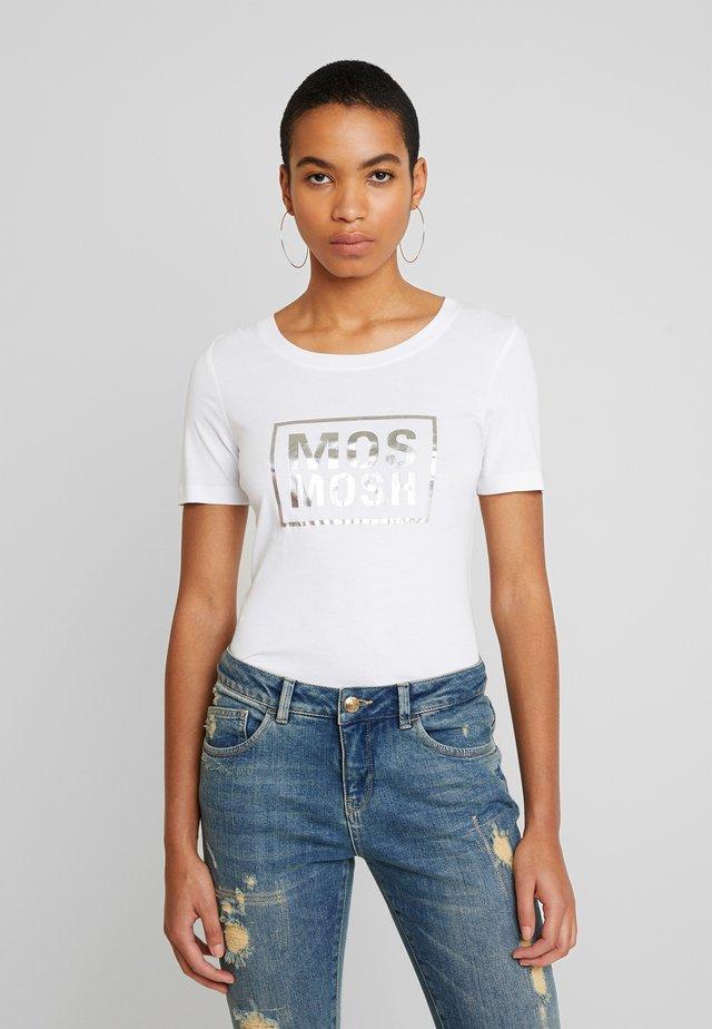 MOST TEE - T-shirt z nadrukiem - white