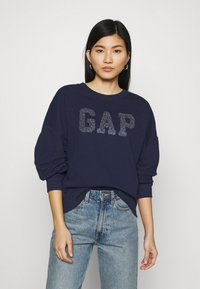 GAP - SHINE - Sudadera - navy uniform - 0